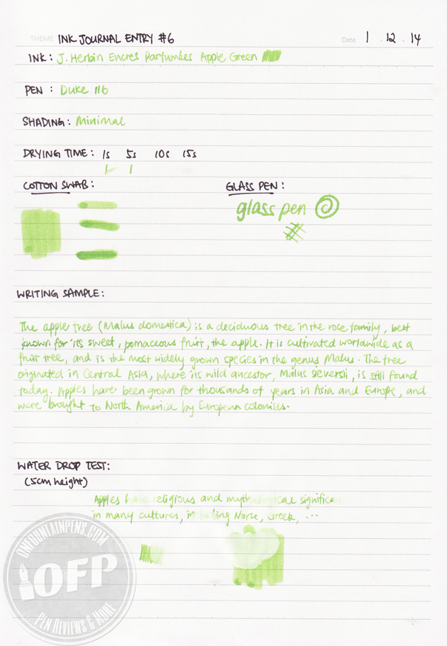 Herbin-Scented-Ink-Green