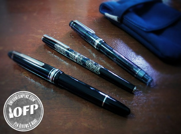 A Montblanc 146P, Pilot Deluxe, Pilot Custom Heritage 92, oh my!