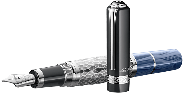 This is the (non-1868 version) Leo Tolstoy fountain pen. Photo Source: Montblanc